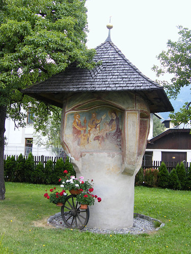 Lienz, Tirol legrégibb festett képoszlopa