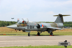 D-8114 Netherlands Air Force Lockheed F-104G Starfighter (Fabke - Aviation Photography) Tags: d8114 air force lockheed f104g starfighter netherlands royalnetherlandsairforce volkel volkelairbase avgeek camouflage runway static old oldtimer classic jet fighterplane 2013