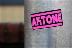Aktone (Alex Ellison) Tags: akt1 aktone tbf sticker tag tottenham northlondon urban graffiti graff boobs