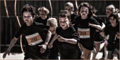 Le départ (leonhucorne) Tags: merdunord koksijde nikon d750 fullframe enfants kids start départ course race
