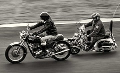 My Generation. (bainebiker) Tags: norton750commando modsrockers motorcycle scooter panning canonef100400mmf4556lis classicmotorcycle cadwellpark lincolnshire uk canonef100400mmf4556lisiiusm