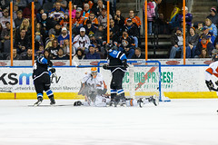 "Missouri Mavericks vs. Wichita Thunder, January 7, 2017, Silverstein Eye Centers Arena, Independence, Missouri.  Photo: John Howe / Howe Creative Photography • <a style=""font-size:0.8em;"" href=""http://www.flickr.com/photos/134016632@N02/32210099536/"" target=""_blank"">View on Flickr</a>"