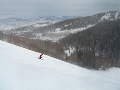 Deer Valley (boydechar) Tags: ski snow deervalley skirun skislopes windy windbuff