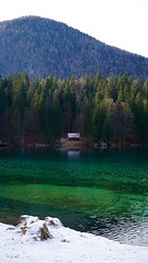 DSC01929 (DSolan) Tags: italy lake fusine nature outdoors green sky clean travel people contrast shadow reflection trees dark light mountain colour minimal europe walk journey hike day