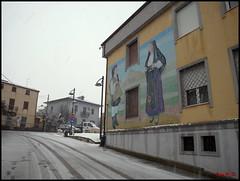 Orroli in white (BeSigma) Tags: sardegna neve orroli ricoh gxr 2485