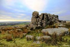 Granite rocks near Cadover, Dartmoor, UK. (ronalddavey80) Tags: dartmoor landscape moorland canon efs1585