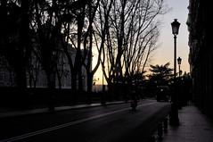 Puesta de sol urbana (Bvil) Tags: madrid puestasdesol palacioreal