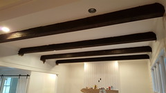 Ceiling Beams After