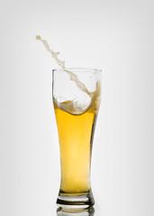 Freak Storm Strikes Beer (Brandon_Hilder) Tags: glasses splash splashes liquid highspeed flash stopmotion glasss freeze freezeframe nikon 105mm macro nikon105mmmacro nikon105 nikon105mm d810 nikond810