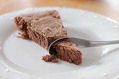 Gâteau au chocolat (fred_v) Tags: chocolat chocolate gateau cuillère spoon