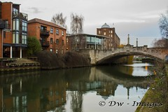 Norwich .2017.13_wm (madmax557) Tags: norfolk norwich river rivers uk eastanglia norwichcity reflection water bridgesoverwater bridge cannoncamera cannon7d greatbritain england bulding buildings riverbank riverside