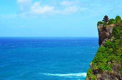 On the Edge of Glory (tinxay) Tags: uluwatu temple seatemple cliff nature travel bali indonesia balinese indianocean