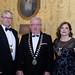 Michael Lennon, IHF Vice President, Joe Dolan, IHF President and Denyse Campbell, IHF Vice President