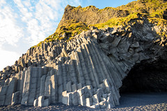 Hlsanefshellir Cave (MeganSpooner) Tags: iceland vik formation cave formations basalt reynisfjara hlsanefshellir myrdalshreppur