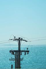 "Humanidad (""Less is more"".) Tags: chile blue sea sky libertad lights minolta human cielo con horizonte azl celeste concon lessismore quintaregion orizonte sintesis"