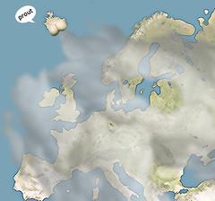 Eyjafjallajökull: la terre a prouté