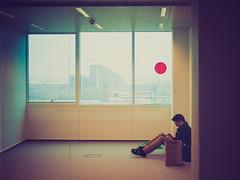 (Brînzei) Tags: windows signs dan reading lomo candid workplace vignette buildingsite manualfocus canonfd ★ pipera explored cavemanart bucurești canoneos400d kiron28mmf2mc kironprecision