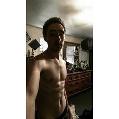 MYSELF (justinbaumann262) Tags: shirtless man workout fitness