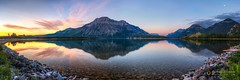 m o r n i n g  r e f l e c t i o n s  (pano) 15692 (Philip Esterle) Tags: ca panorama canada mountains composite sunrise reflections dawn landscapes montana skies shoreline scenic alberta glaciernationalpark skyscapes hdr waterton naturephotography waterscapes princeofwaleshotel landscapephotography watertonlakesnationalpark mountainscapes middlewatertonlake berthapeak campbellmountain citadelpeaks vimypeak mtrichards pentaxk3 fingolfinphoto philipesterle