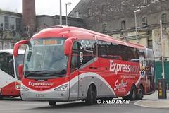 Bus Eireann SE18 (12D20481). (Fred Dean Jnr) Tags: cork expressway scania buseireann irizar i6 se18 supermacs alloverad parnellplacebusstation buseireannroute51 12d20481 september2015