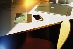 000014 (kirmizidemlik) Tags: film analog canon reading book desk ae1 laptop study canonae1 edgarallenpoe filmisnotdead macbook iphone6