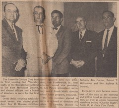 Leader, 3-24-1960 pg. 1 001 (Vernon Parish Library) Tags: monk h lee roark leesvillecivitanclub civitans orvalbritt roywhooker jessfunderburkjr pynesj