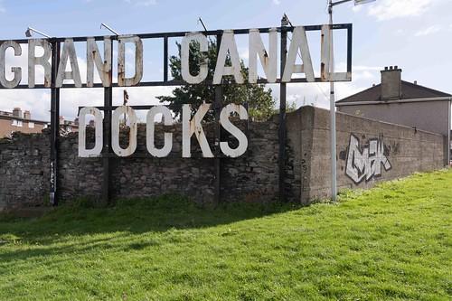 GRAND CANAL DOCKS [21 SEPTEMBER 2015] REF-10805470