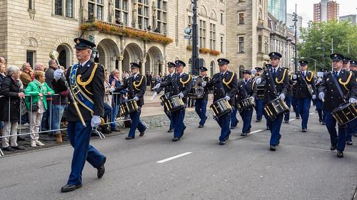 Nederlands Politie Orkest (NPO) - Coolsingel - Rotterdam
