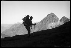 traversing Arts Knoll (fchemotti) Tags: northcascades washington climber kodakretina
