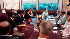 Had a Meeting with  Bahrain Business Council  - Harsimrat Kaur Badal (2) (harsimratkaur_badal) Tags: food india sad meeting business punjab development activities possibilities delegation foodprocessing hasimratkaurbadal