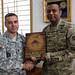 USARJ bids farewell to G3 sergeant major