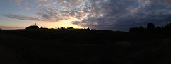 Sunset panorama (adriank1410) Tags: light summer sky holidays memories poland polska wakacje lato wspomnienia iphone5 iphoneography lublinvoivodeship