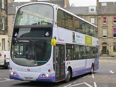 First Scotland East 31790 (YN53EFH) - 26-09-15 (peter_b2008) Tags: buses volvo edinburgh transport wright coaches firstgroup 31790 b7tl buspictures eclipsegemini yn53efh firstscotlandeast