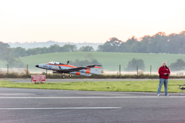 Phil flying his Jetcat powered Elan turbine.