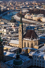 Winter View - Austria, Salzburg (Nomadic Vision Photography) Tags: winter snow cold salzburg heritage austria historical viewpoint franciscanchurch jonreid tinareid nomadicvisioncom