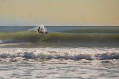 Hurricane Joaquin (Surf) (dennisknowlesphotos) Tags: ocean fall beach water waves florida offshore hurricane surfing clean swell cutback