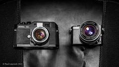 Voigtlnder Lens Duo (amipal) Tags: camera lens lumix voigtlander bessa panasonic product nokton adapted manuallens colorultron gm5