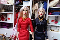 The twins (Isabelle from Paris) Tags: fashion club w peek eden exclusive royalty luncheon sneak nuface isabelleparisjewels