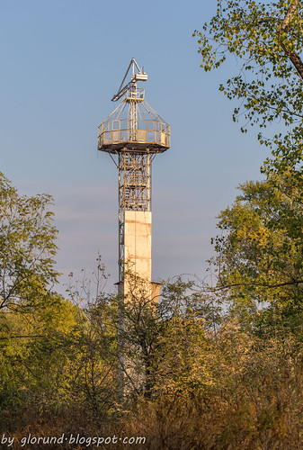 Old parachute tower