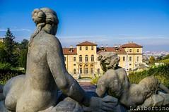 Villa della Regina: punti di vista (Città metropolitana di Torino) Tags: panorama parco statue unesco belvedere fontana monumenti barocco giardino cascatella mascherone collinatorinese
