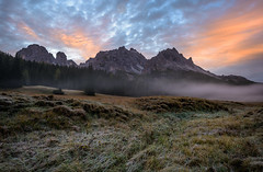 Take the time... (A.K_Photography Hamburg) Tags: italien autumn mountains cold nature fog landscape frost nebel herbst berge dolomiten nikond810 unescoworldnaturalheritage afsnikkor24mm114ged