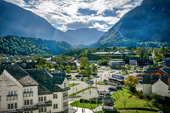 Eidfjord (C.G.Photos) Tags: townscape holidays cruise norway magellan travel fjords