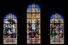 Stained-glass Window Art at Trinity Church, Boston *explored* (Apricot Cafe) Tags: boston america walking ma us unitedstates weekend massachusetts trinitychurch stainedglasswindow canonef2470mmf28liiusm img623268