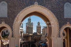 Bab Boujloud, main entrance to the medina (FM Photographer) Tags: africa fez medina marroc babboujeloud feselbali puertagate
