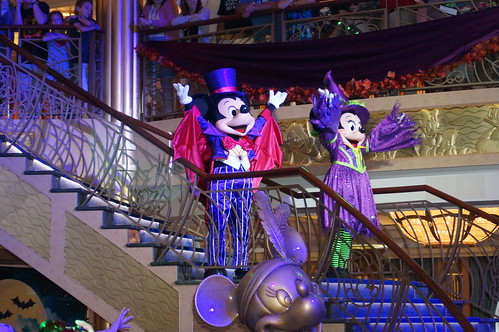 """Mickey and Minnie Mouse at Mickey's Mouse-querade Party • <a style=""""font-size:0.8em;"""" href=""""http://www.flickr.com/photos/28558260@N04/23032829826/"""" target=""""_blank"""">View on Flickr</a>"""