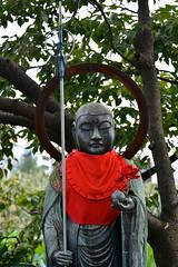 Jizo (Mondmann) Tags: statue japan tokyo asia ueno buddhist religion buddhism icon staff bodhisattva iconography uenopark eastasia buddhistmonk ksitigarbha jiz cintamani mondmann ojizsama nikond7100