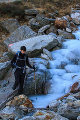 il Guado di Ghiaccio (Roveclimb) Tags: alps ford ice water stream crossing hiking acqua alpi guado ghiaccio torrente valchiavenna escursionismo muncech altolario samolaco pianeladiros pieneladiros mengasca
