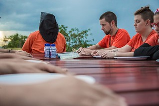 Thanksgiving at Guantánamo - Luke Nephew and Marie Shebeck