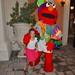 Violet & Elmo At The End Of The Junkanoo Parade