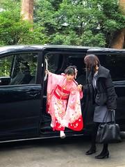 The little Japanese princess. (-Faisal Aljunied-) Tags: japan iphone7plus meijishrine streetphotography kimono tokyo faisalaljunied